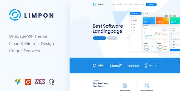 Limpon - App Landing WordPress
