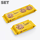 5 PSD. Cookies. Flow Pack Mockup - GraphicRiver Item for Sale