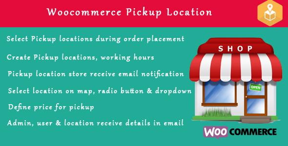 Woocommerce Pickup Locations (Local Pickup) wordpress plugin Download
