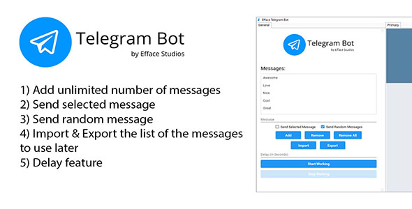 Efface Telegram Bot