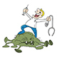 Cartoon Doctor Successful in Finding a Cure - GraphicRiver Item for Sale