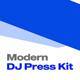 Modern DJ Press Kit Template - GraphicRiver Item for Sale
