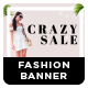 Fashion Social Media Banner Set - 05 Designs - GraphicRiver Item for Sale