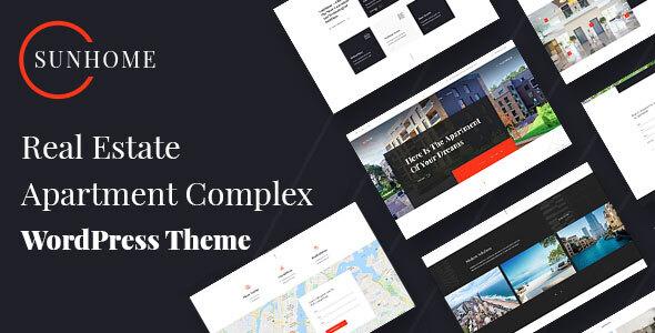 SunHome – Real Estate & Apartment Complex Preview