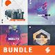 Music Album Cover Artwork Templates Bundle 31 - GraphicRiver Item for Sale
