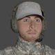 Man Soldier 02 Low-poly Ready for games - 3DOcean Item for Sale