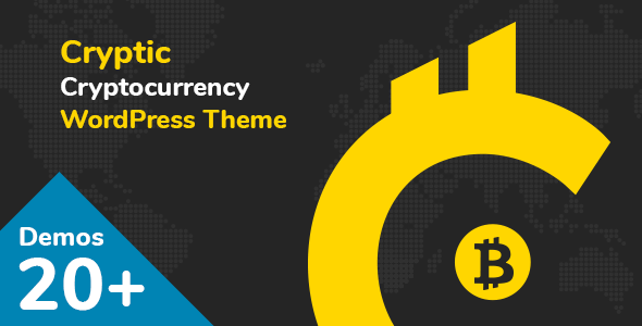 Cryptic - Cryptocurrency WordPress Theme Download