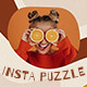 Lifestyle Blogger Instagram Puzzle - GraphicRiver Item for Sale