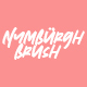 Nymburgh Brush Minimal Display Typeface - GraphicRiver Item for Sale