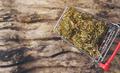 dried cannabis medical marijuana in trolley - PhotoDune Item for Sale