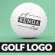 Golf Ball Logo Reveal - VideoHive Item for Sale
