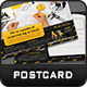 Construction Postcard Template - GraphicRiver Item for Sale