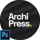 ArchiPress - Architecture Agency PSD Template - ThemeForest Item for Sale