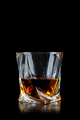 Glass of whiskey on black background - PhotoDune Item for Sale