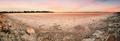 Panorama of the salt lake of Aliki without water - PhotoDune Item for Sale