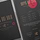 Premium Coffee Shop Menu Template - GraphicRiver Item for Sale