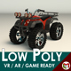 Low Poly ATV 01 - 3DOcean Item for Sale