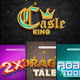 3D Text Mockup Cartoon - GraphicRiver Item for Sale