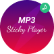 MP3 Sticky Player - CodeCanyon Item for Sale