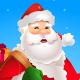 Santa Ringing Golden Bell - GraphicRiver Item for Sale