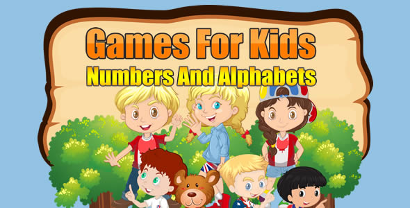 Games For Kids Numbers And Alphabets