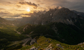 Sunrise in the mountains on a moody morning - PhotoDune Item for Sale