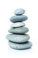 spa stones isolated on white background - PhotoDune Item for Sale