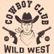 Cowboy Club Badges - GraphicRiver Item for Sale