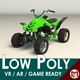 Low Poly ATV 02 - 3DOcean Item for Sale