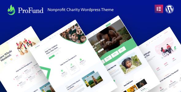 Nonprofit ProFund - Charity Theme