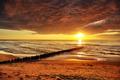 Golden sunset over Baltic Sea - PhotoDune Item for Sale