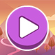 Purple Theme GUI Pack 07 - GraphicRiver Item for Sale