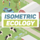Ecology Isometric - Green Energy - VideoHive Item for Sale