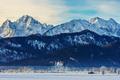Winter landscape in schwangau, German, Europe - PhotoDune Item for Sale