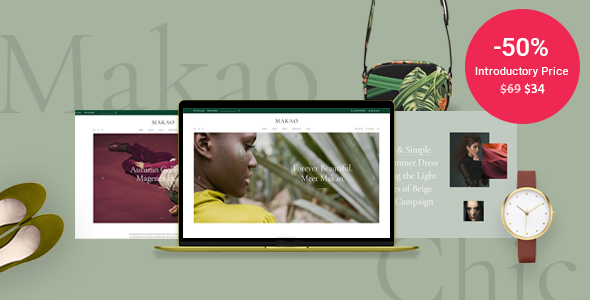 Makao - Fashion Shop WordPress Theme 1