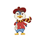 Penguin Character with Pointed Shoes - GraphicRiver Item for Sale