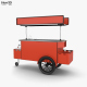 Food Cart - 3DOcean Item for Sale