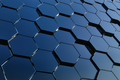 Abstract hexagon background. 3D rendering. Honey grid - PhotoDune Item for Sale
