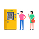 Queue to ATM - GraphicRiver Item for Sale