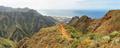Punta Hidalgo from Chinamada, Anaga massif, Tenerife, Canary Islands, Spain. - PhotoDune Item for Sale