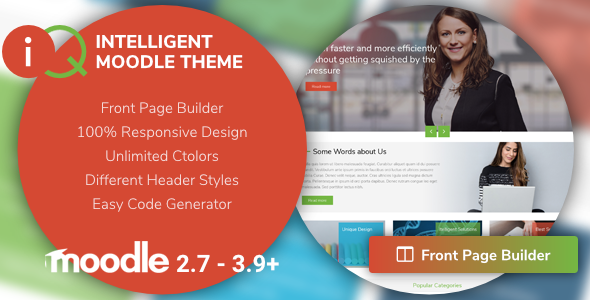 IQ | Intelligent Moodle Theme