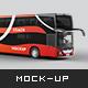 Mercedes MCV Coach Mockup - GraphicRiver Item for Sale