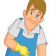 Cleaner Man - GraphicRiver Item for Sale