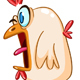 Panicked Chicken - GraphicRiver Item for Sale