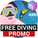 FREE DIVING   Promo video, commercial. - VideoHive Item for Sale