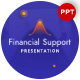 Financial Support Presentation Template - GraphicRiver Item for Sale
