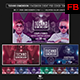 Techno Dimension Facebook Event Cover/Banner Templates - GraphicRiver Item for Sale
