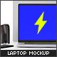 Laptop Mockup - GraphicRiver Item for Sale