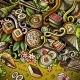 Cartoon Hand-drawn Doodles Japan Food Frame - GraphicRiver Item for Sale
