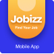 Jobizz Mobile App and Landing Page | An Online Job Search Figma Template - ThemeForest Item for Sale